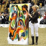 130x180 cm Abstrakt